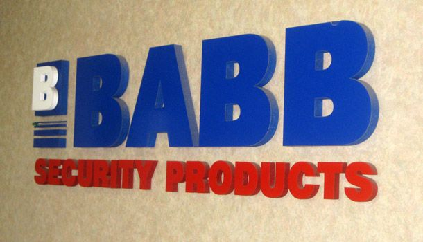 Babb Security Products 3d Signage