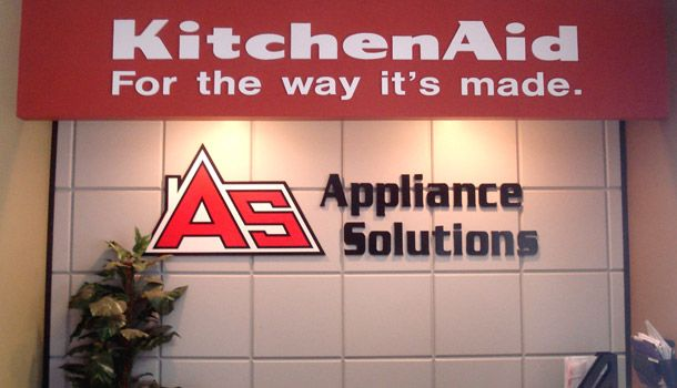 Appliance Solutions Signage