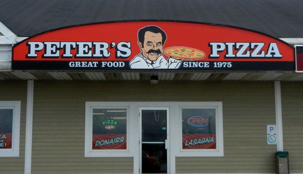 Peter's Pizza Canopy